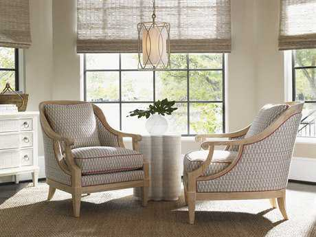 Tommy Bahama Ivory Key Shoal Bay Chair Set