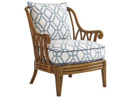 Tommy Bahama Bali Hai Ocean Breeze Rattan Back Chair