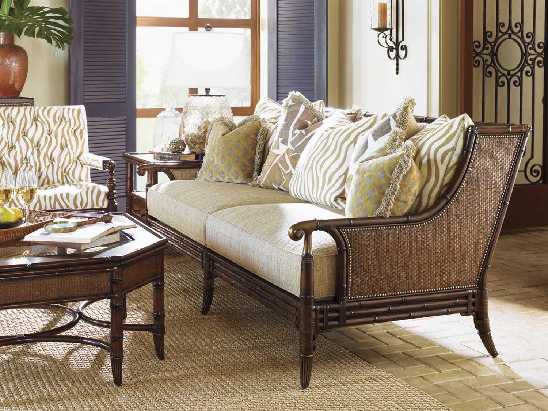 tommy bahama landara las palmas living room set to166633set. Black Bedroom Furniture Sets. Home Design Ideas