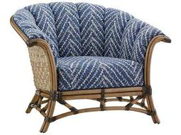 Tommy Bahama Twin Palms Pelican Channel Key Back Rattan Chair