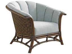 Tommy Bahama Twin Palms Sunset Key Channel Back Rattan Chair