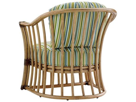Tommy Bahama Twin Paradise Cove Loose Back Rattan Chair