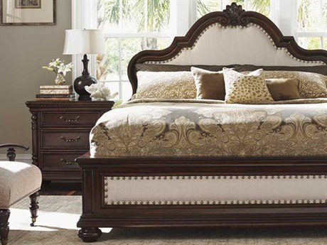 Tommy Bahama Kilimanjaro Barcelona California King Tangier Panel Bed