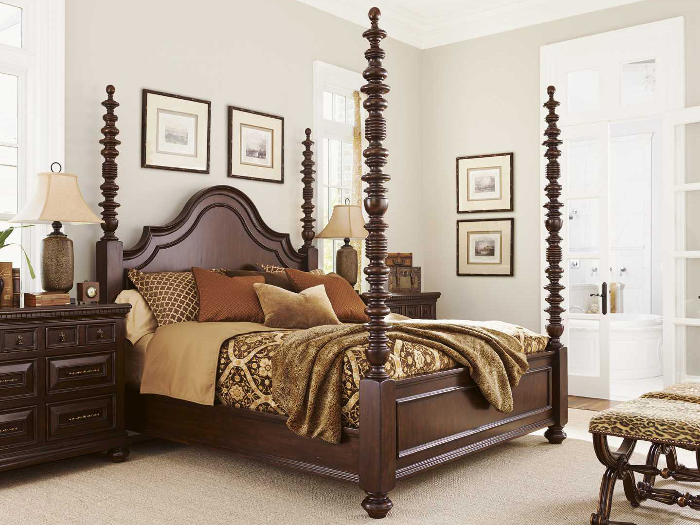 Tommy bahama kilimanjaro candaleria tangier bedroom set - Used lexington bedroom furniture ...