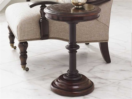 Tommy Bahama Kilimanjaro 16 Round Queenstown Tangier Accent Table