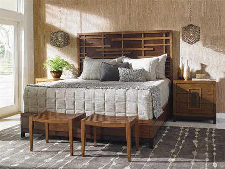 Tommy Bahama Island Fusion Shanghai Sebana Bedroom Set