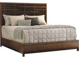 Tommy Bahama Island Fusion Shanghai California King Sebana Panel Bed