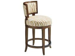 Tommy Bahama Island Fusion Macau Swivel Sebana Counter Stool