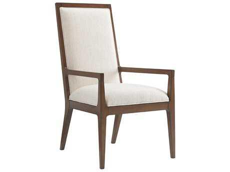 Tommy Bahama Island Fusion Natori Slat Back Sebana Dining Arm Chair