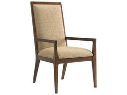 Tommy Bahama Island Fusion Natori Slat Back Sebana Dining Arm Chair