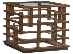 Tommy Bahama Island Fusion 27 Square Nobu Sebana Lamp Table
