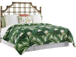 Tommy Bahama Twin Palms St. Kitts Rattan Bed 5/0 Queen