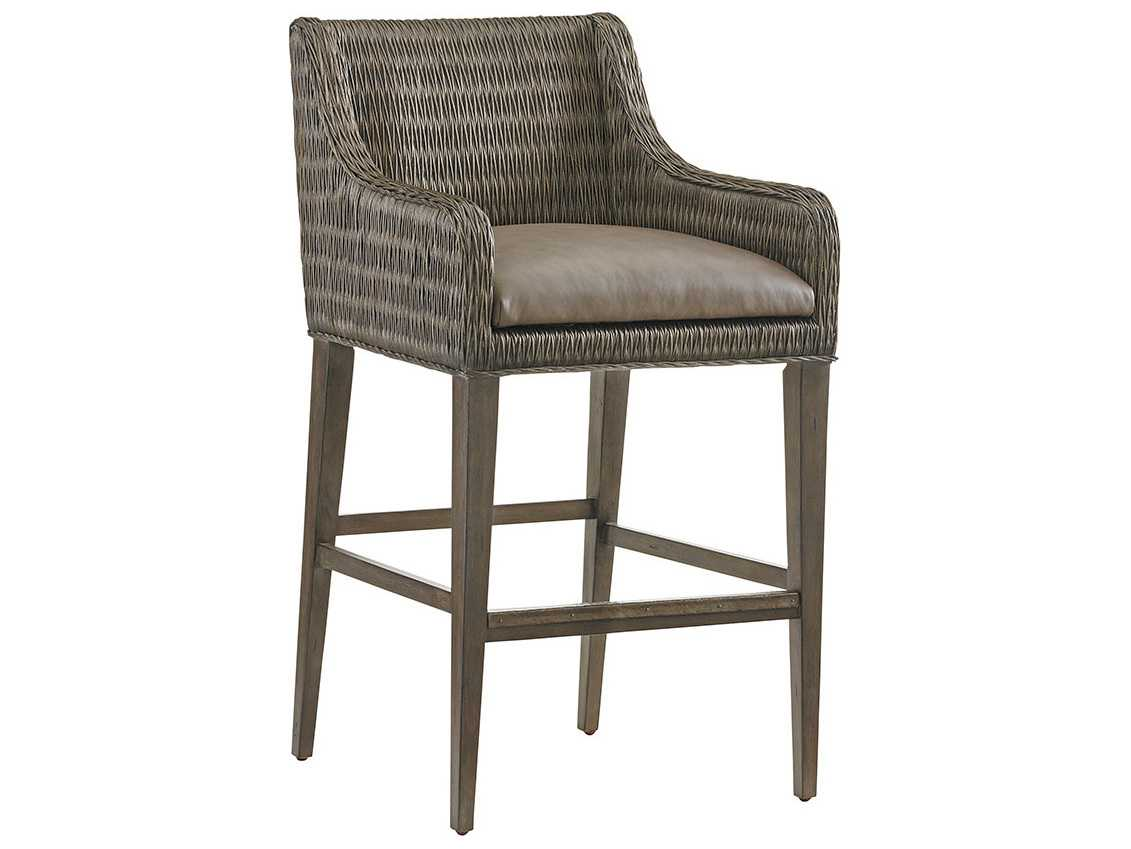 Tommy Bahama Cypress Point Turner Woven Bar Stool (Quick ...