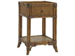 Tommy Bahama Bali Hai Del Sol Bedside Table Square Nightstand