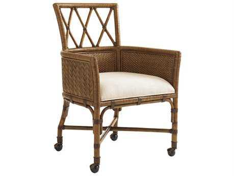 Tommy Bahama Bali Hai 25.25'' x 24'' Tarpon Cove  Quick Ship Game Arm Chair