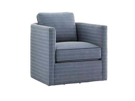 Tommy Bahama Twin Palms Dorado Beach Loose Back Swivel Chair