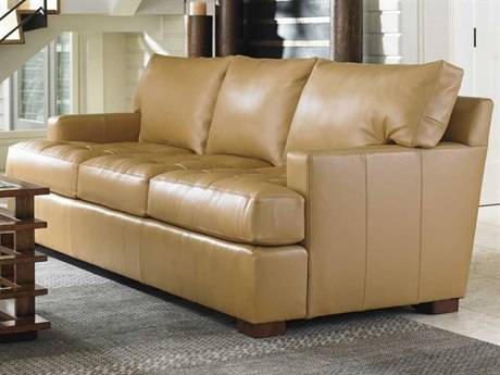 Tommy Bahama Island Fusion Loose Back Osaka Leather Masami Sofa