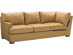 Tommy Bahama Island Fusion Loose Back LAF Leather Masami Corner Sofa