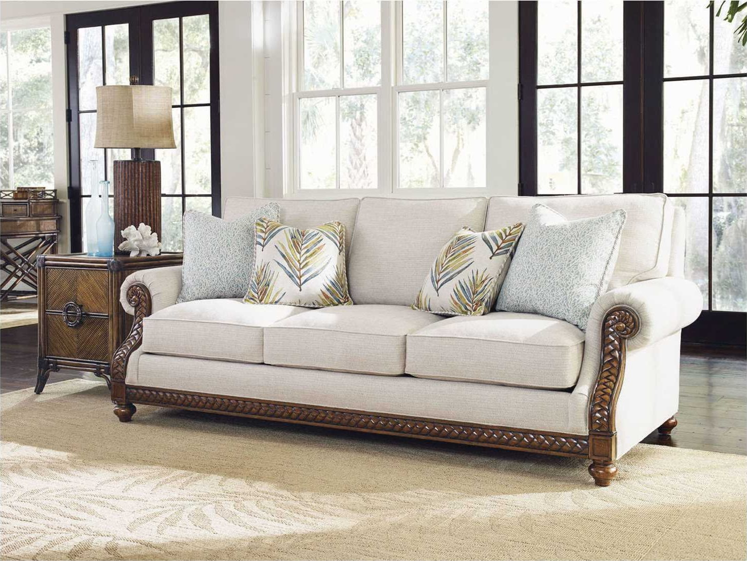 Tommy Bahama Bali Hai Shoreline Quick Ship Loose Back Sofa
