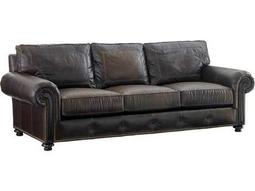 Tommy Bahama Kilimanjaro Loose Back Riversdale Leather Tangier Sofa