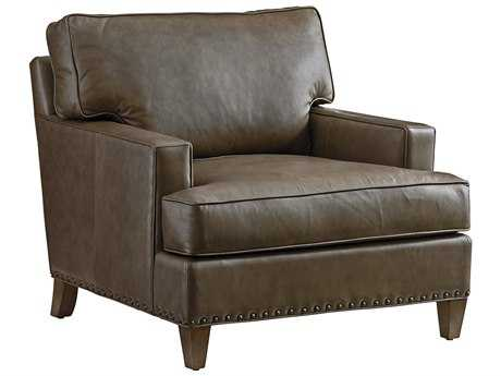 Tommy Bahama Cypress Point Hughes Leather Chair (Quick Ship)