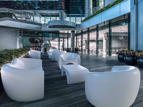 Tonik Goby Polyethylene Lounge Set PatioLiving