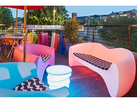 Tonik Goby Polyethylene Lounge Set PatioLiving