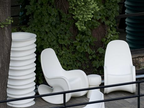 Tonik Huey Polyethylene Lounge Set PatioLiving