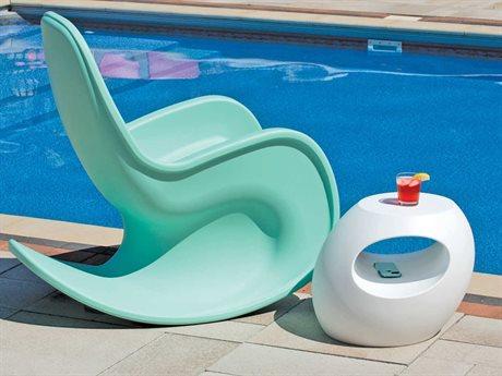 Tonik Huey Polyethylene Lounge Set PatioLiving