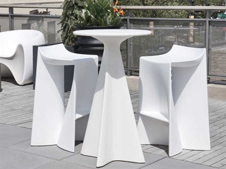Tonik Jux Seating Polyethylene Bar Set PatioLiving
