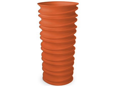 Tonik Swizzle Polyethylene 56'' Planter PatioLiving