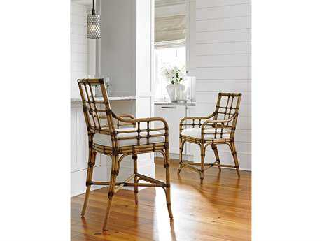 Tommy Bahama Twin Palms Bar Chair Set