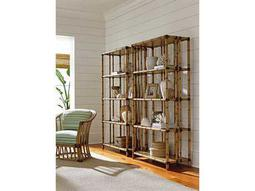 Tommy Bahama Twin Palms Chair and Etagere Set