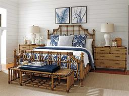 Tommy Bahama Twin Palms Poster Bed Bedroom Set