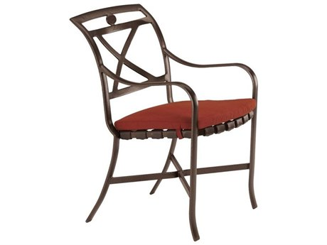 Tropitone Palladian X Back Cast Aluminum Dining Chair