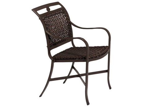 Tropitone Palladian Lattice Cast Aluminum Dining Chair