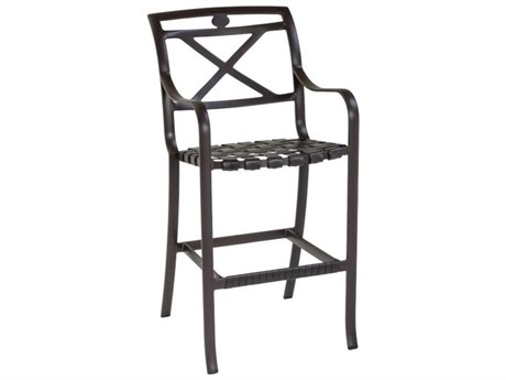 Tropitone Palladian X Back Cast Aluminum Bar Stool