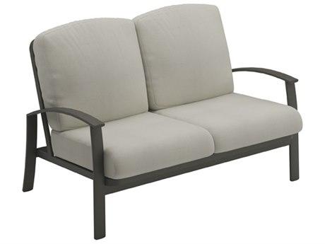 Tropitone Mainsail Cushion Relaxplus Aluminum Loveseat