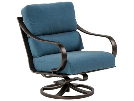 Tropitone Torino Cushion Aluminum Swivel Rocker Lounge Chair
