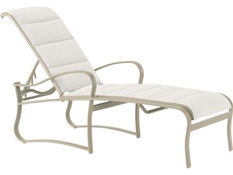Tropitone Shoreline Padded Sling Aluminum Chaise Lounge