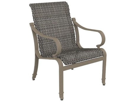 Tropitone Torino Woven Aluminum Dining Arm Chair
