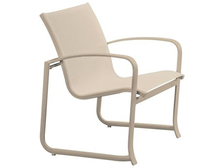 Tropitone Spinnaker Stackable Aluminum Stackable Dining Arm Chair