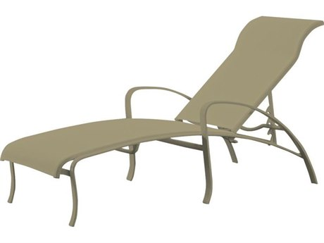 Tropitone Spinnaker Sling Aluminum Adjustable Chaise Lounge