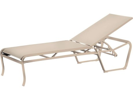 Tropitone Spinnaker Sling Aluminum Stackable Chaise Lounge