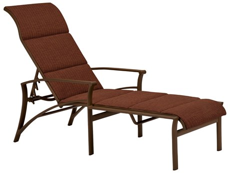 Tropitone Corsica Padded Sling Aluminum Adjustable Chaise