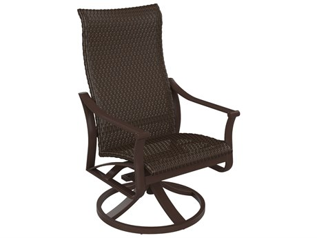 Tropitone Corsica Woven High Back Swivel Rocker