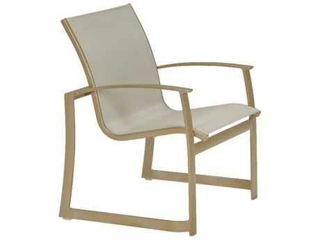 Tropitone Mainsail Sling Aluminum Dining Arm Chair