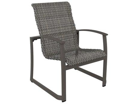 Tropitone Mainsail Woven Aluminum Dining Arm Chair