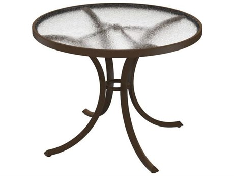 Tropitone Cast Aluminum 36 Round Dining Table