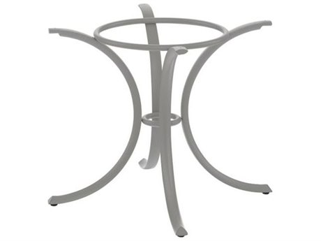 Tropitone Bases Cast Aluminum Round Dining Table Base Only 27.5H